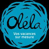 Logo Oléla sur mesure bleu